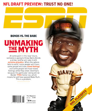 Barry Bonds Unbreaking Myth ESPN Cover