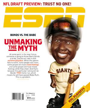 Barry Bonds Unbreaking Myth ESPN Cover