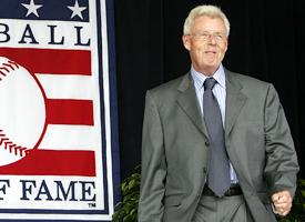 Photo Peter Gammons Baseball Hall of Fame