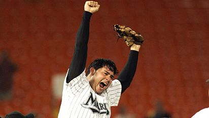 Marlins Rookie Anibal Sanchez Throws No Hitter Photo