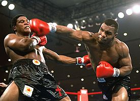 Trevor Berbick - Mike Tyson Fight Photo