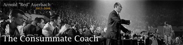 Red Auerbach Consumate Coach ESPN Banner