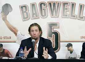 Jeff Bagwell Retires Photo