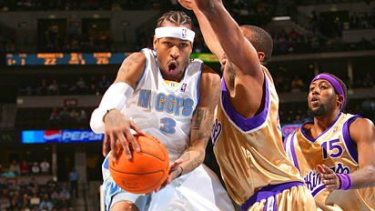 Allen Iverson's Denver Nuggets Debut Photo