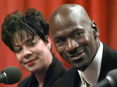 Michael Jordan and Wife Juanita Divorce Photo