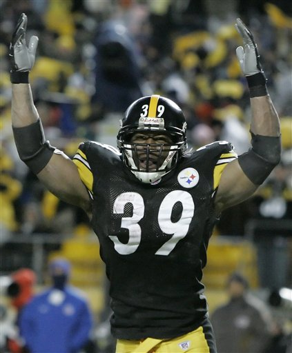Willie Parker Rushes for 223 Yards, New Steeler Record