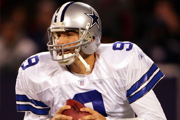 Dallas Cowboy Tony Romo NFL Players of Month