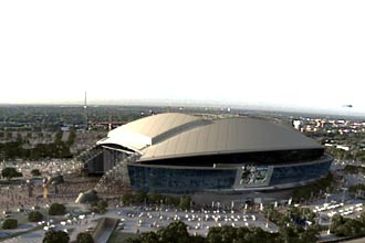Cowboys New Stadium Photo Mockup