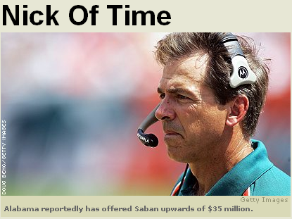 Nick Saban Photo ESPN
