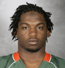 Brandon Meriweather Miami Hurricanes Photo