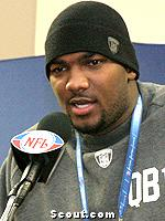 JaMarcus Russell Photo Street Clothes