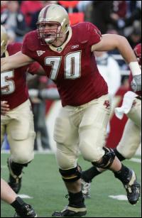 OT James Marten of Boston College Photo