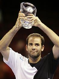 Pete Sampras Wins Senior Tour Debut Photo