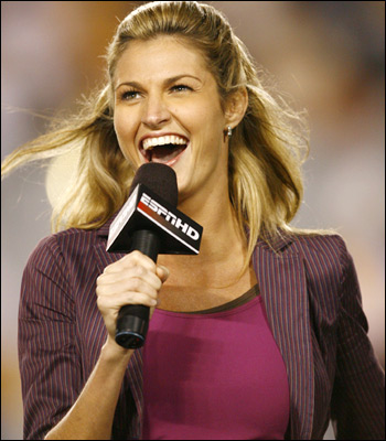 Sexy Erin Andrews Photo 1 Distracting Players