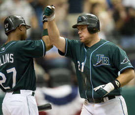 Ty Wigginton Tampa Bay Devil Rays Photo