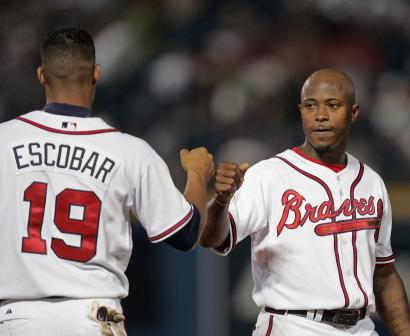 Photo Willie Harris Goes 6-for-6, Ties Braves Record