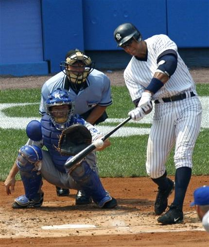 Alex Rodriguez 500th Home Run Photo
