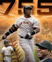 Barry Bonds 755th Home Run ESPN Graphic