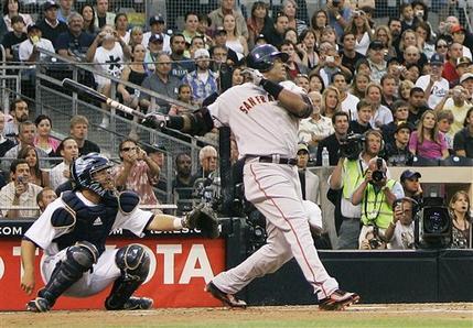 Barry Bonds 755th Home Run Photo San Francisco Giants