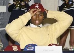 Julio Jones Headlines Alabama 2008 Recruiting Class