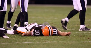 Browns lose to Baltimore Ravens, 16-0