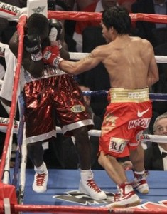 Pacquiao Clottey Boxing