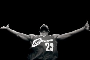 lebron-james-cleveland-b&w