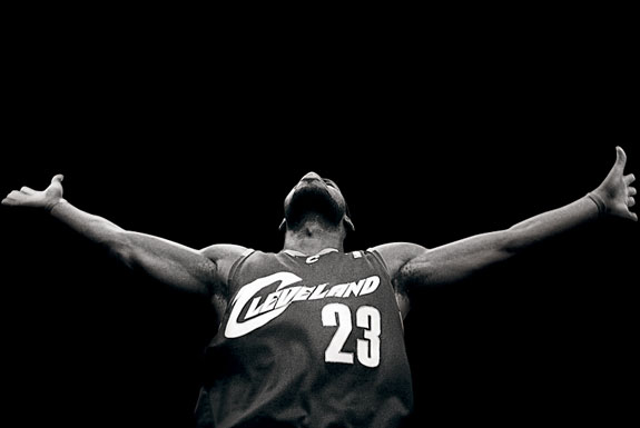 lebron james. LeBron James#39; Cowardly